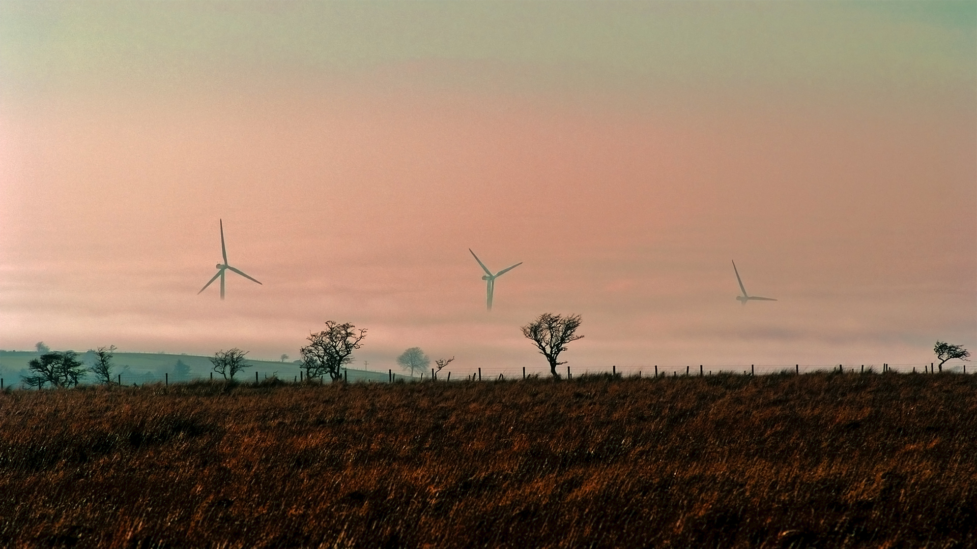 Location photography for company building Wind Turbines at Caldbeck