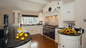 Luxury  Self Catering Kitchen Photographed in one of Lakeland's higher end properties