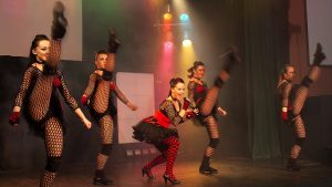 Fishnet Flamboyance in Explosive Productions 03 at Center Parcs, Penrith.
