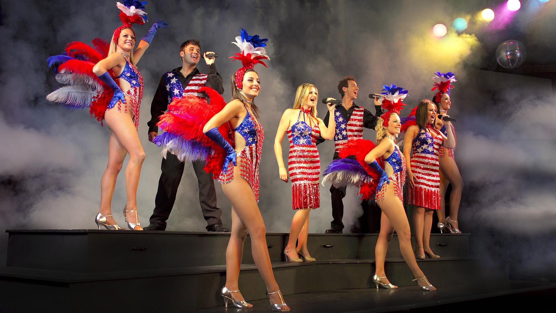 Captain(ess) Chorus Line 10 Explosive Productions at Center Parcs, Penrith.