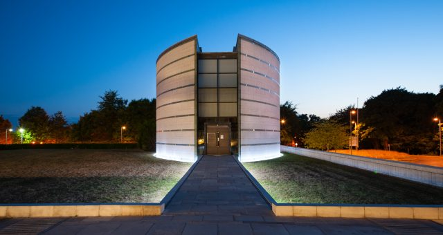 Architectural Photography at The Ruskin Library and Research Centre at Lancaster University